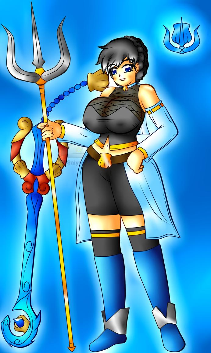 Solar Girl-Sapphire Oceantis by NWSaiyanX