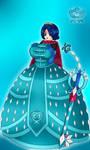 Solar Girl 0735 -Princess Crystal- by NWSaiyanX