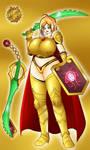 Solar Girl 0820 -Orianna the Radiant Dawn- by NWSaiyanX