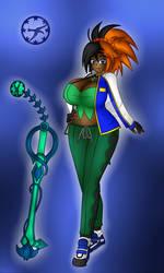 Solar Girl 0550 -Wanda D. Samano- by NWSaiyanX