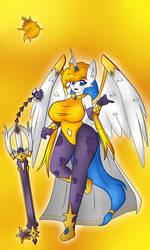 Solar Girl 0599 -Deltra the Alicorn- by NWSaiyanX