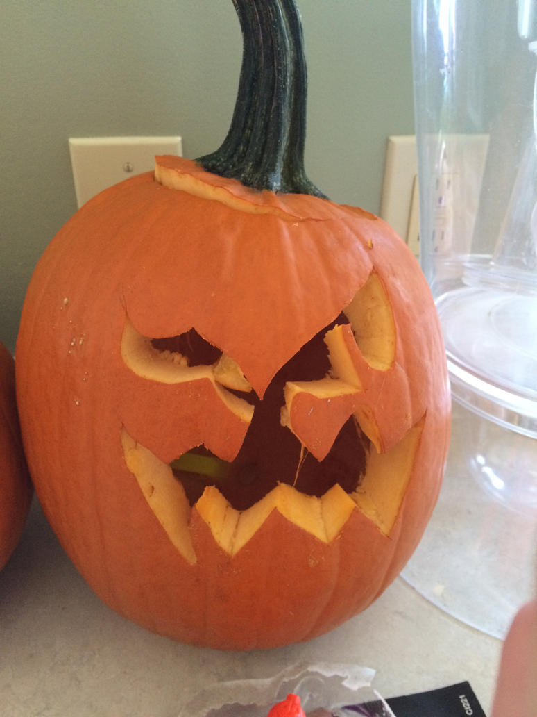 Spiritomb pumpkin by pikafang