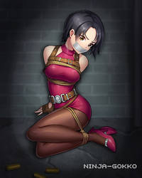 Ada captured by Ninja-Gokko