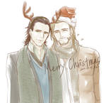 Thorki Merry Christmas