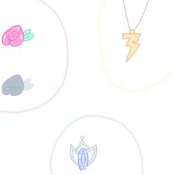 Magical Transformation Items by Kalea--Jade
