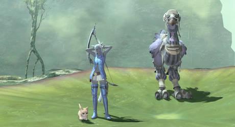 TilDarr, Kalea Silver, and Spyro