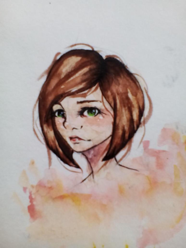 Random girl by AnastasiaCaroline