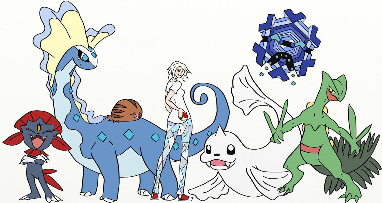 Pokemon ice type team by matchsticksketchbook on deviantart pokemon ice type team by matchsticksketchbook sciox Choice Image
