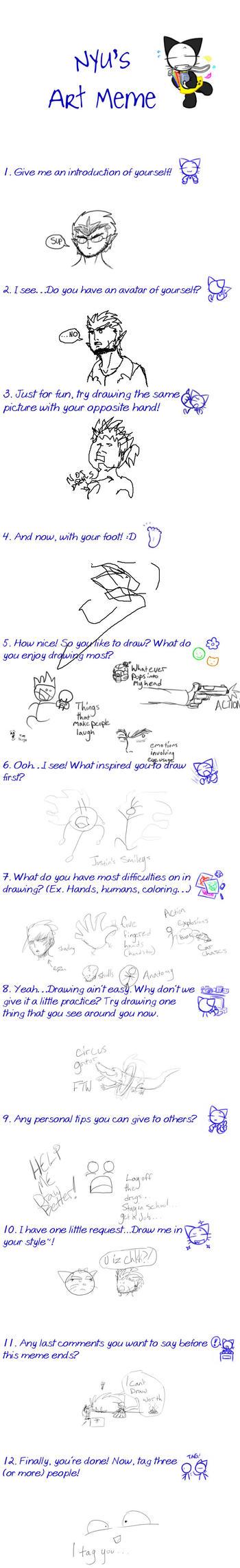 Art meme thing by ChristianL337