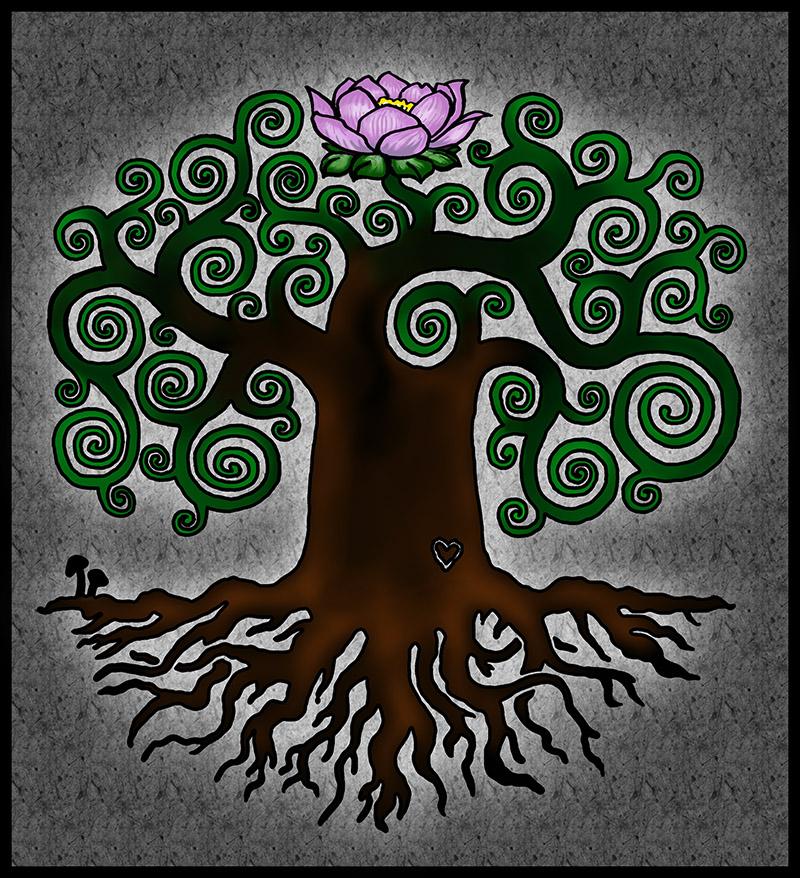 tattoo design tree of life by 31337157 on deviantart. Black Bedroom Furniture Sets. Home Design Ideas