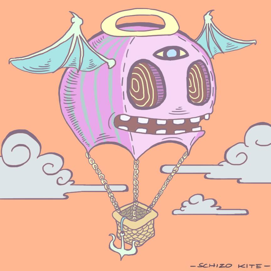 As Above So Below - Schizo Kite - by SchizoKite