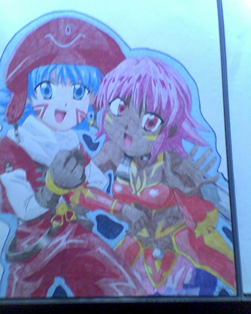 Shugo and Rena by ShirakikuRamune