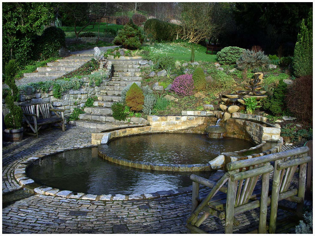 Chalice Well Gardens by tristian1970