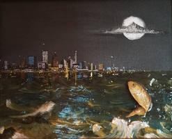 Mike Ushlers Fish by Zack Parkar