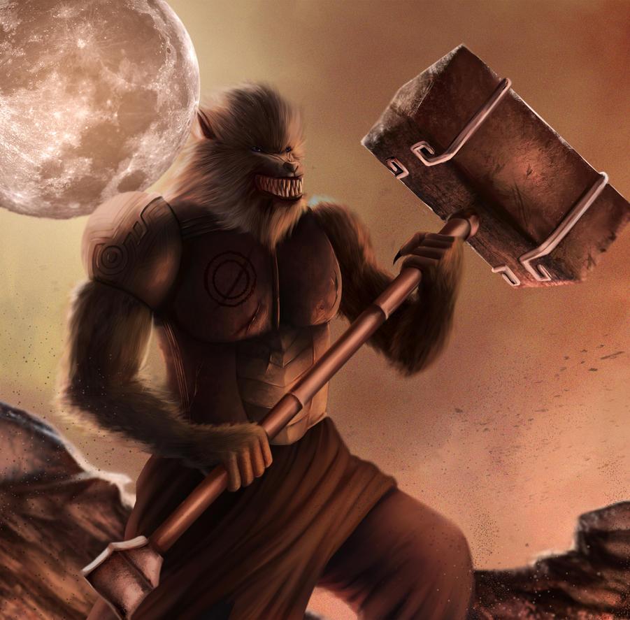 Werewolf Warrior by ivan1426