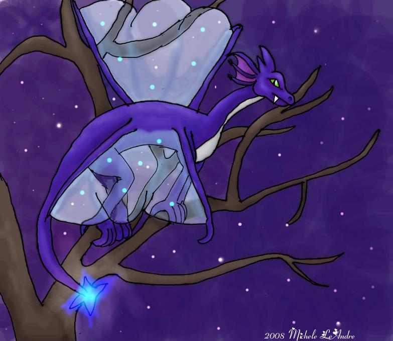 Cosmic Dragon by Spacebabie