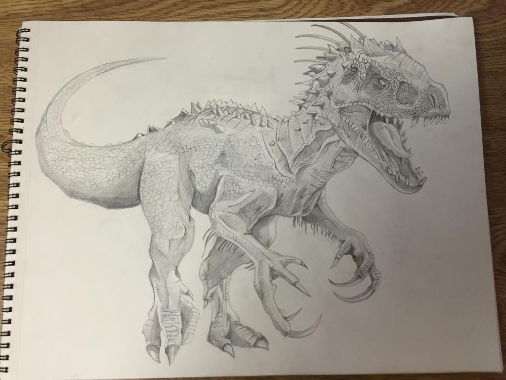 indominus rex by tontolizer on deviantart
