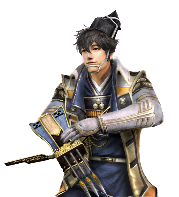 Mouri Motonari Warriors Orochi 3 U Card 3 By LadyTuonela