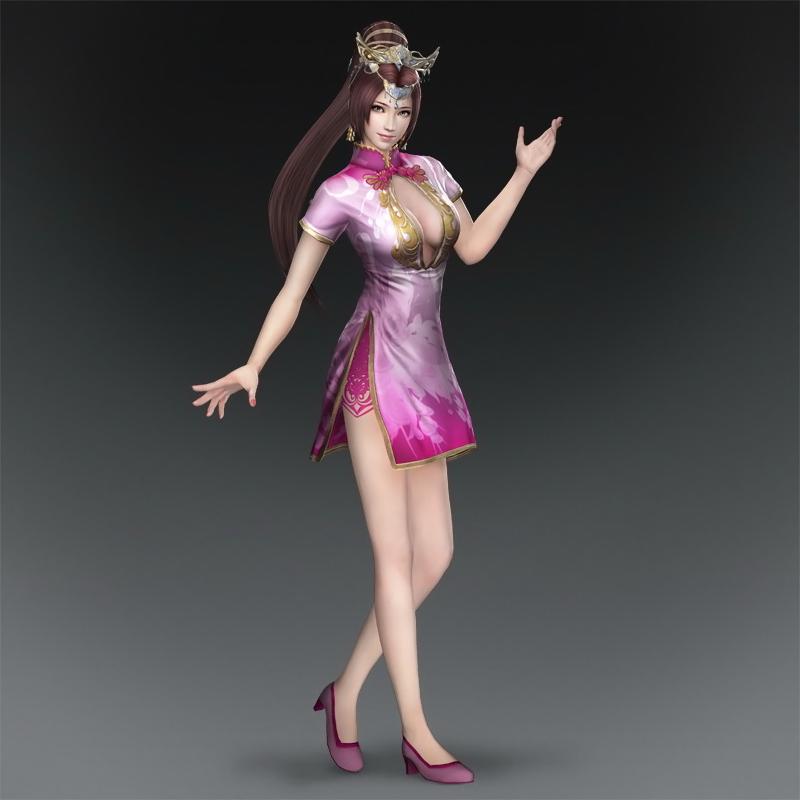 Diaochan Cheongsam (DW8XL DLC) By LadyTuonela On DeviantArt
