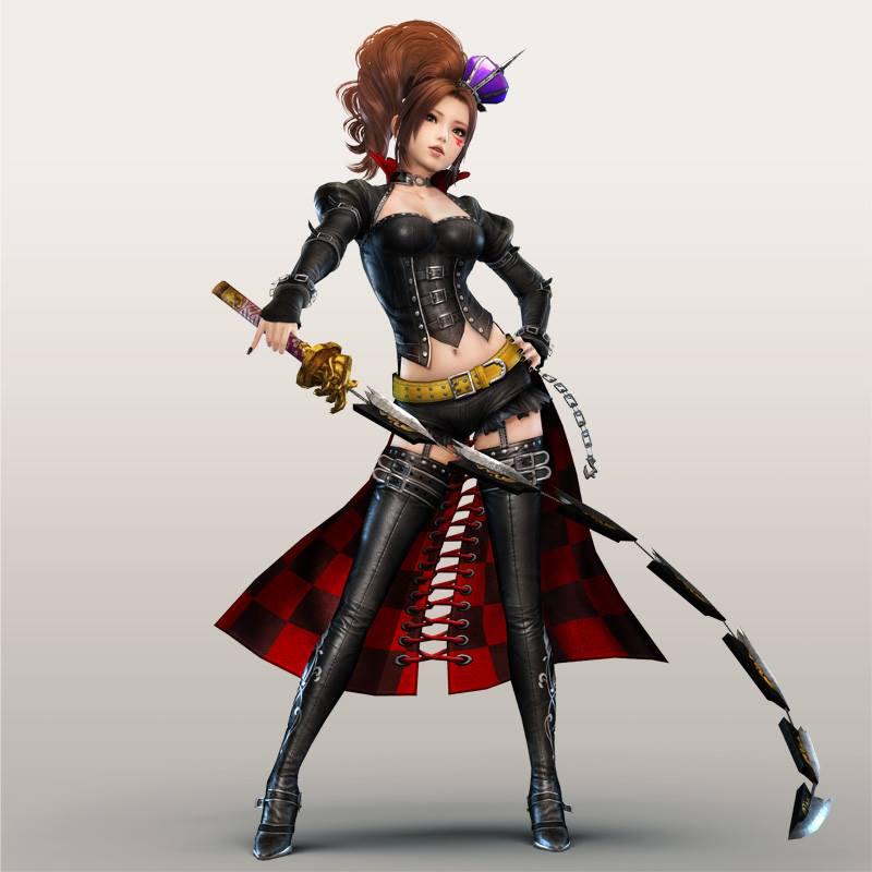 Warriors Orochi 4 Dlc November 29: Kaihime SW4-II DLC By LadyTuonela On DeviantArt