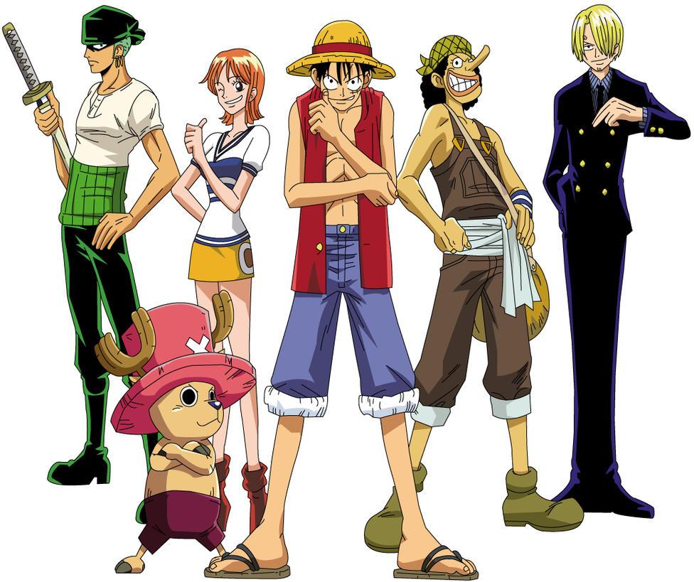 One Piece - Crew coloured by Majin-Luffy on DeviantArt