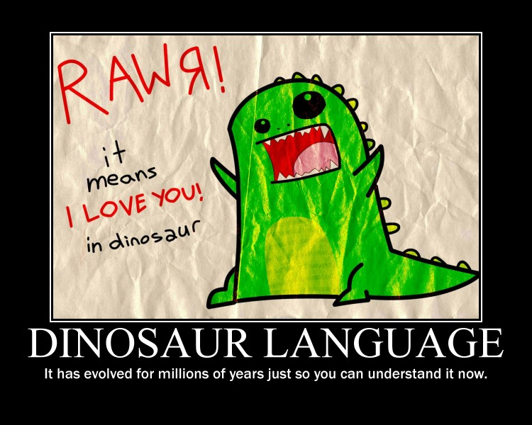 Boyfriend Birthday Card Dinosaur Funny Love I You