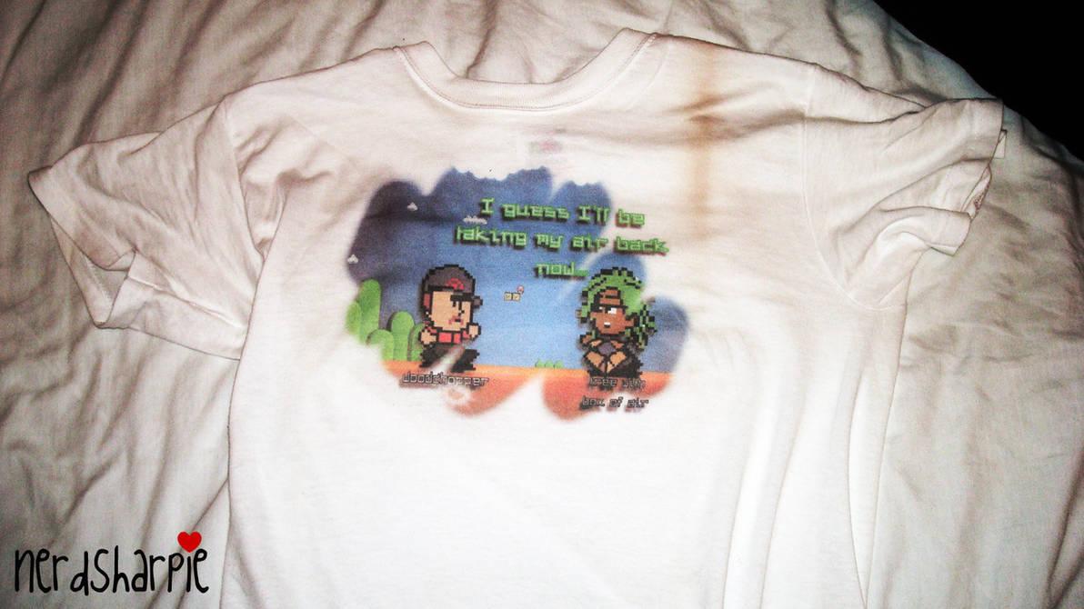 Eco-Friendly T-Shirt by nerdsharpie