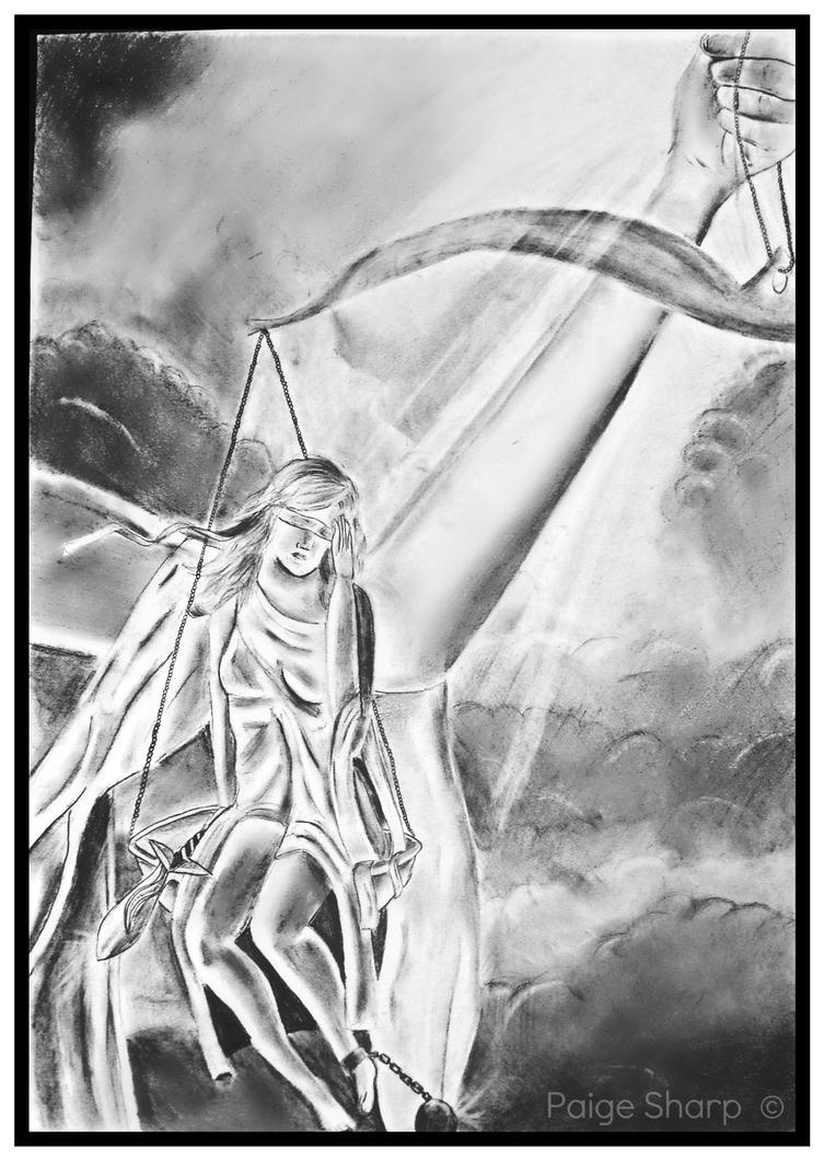 Tangeld: Lady Justice by nerdsharpie