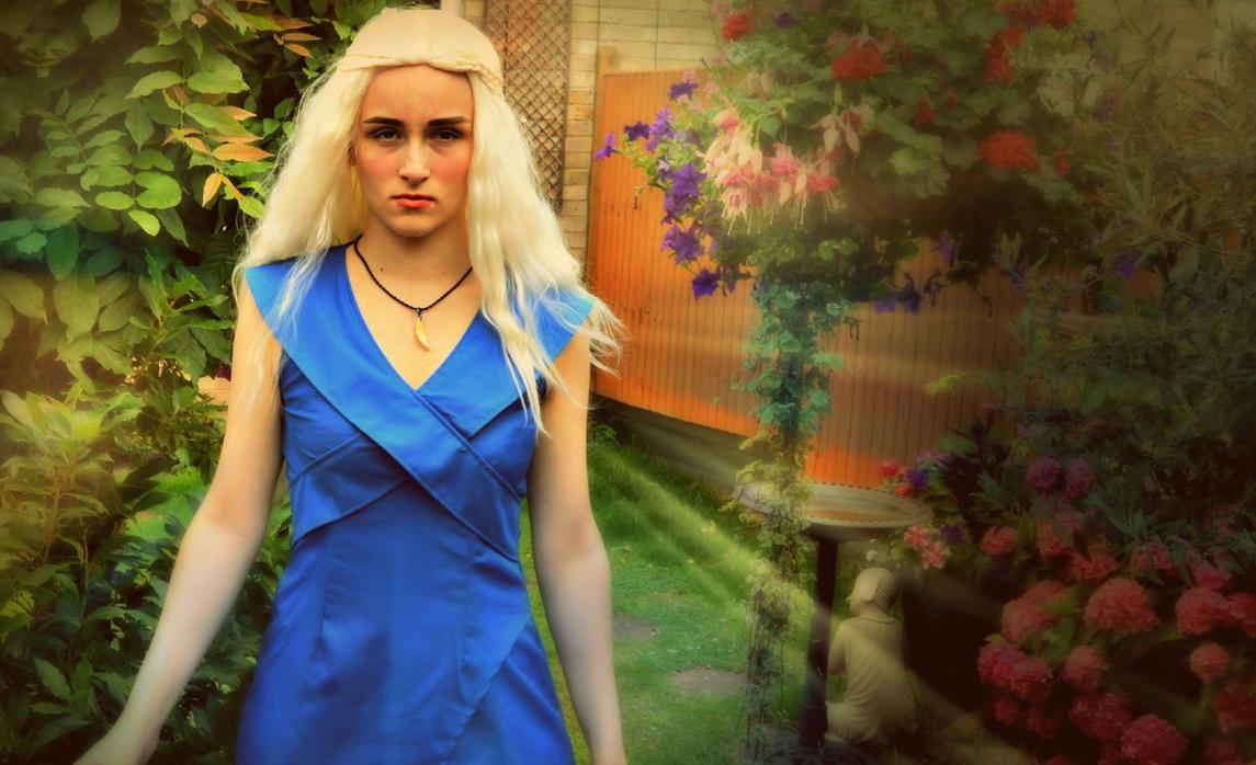Daenerys Targaryen, Khaleesi by nerdsharpie