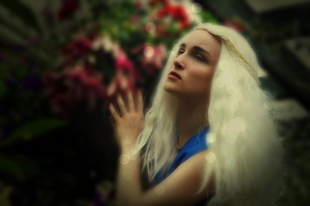 Daenerys Targaryen, Khaleesi 3 by nerdsharpie