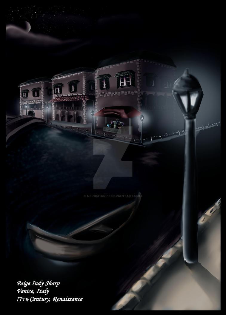 Venice Concept Art by nerdsharpie