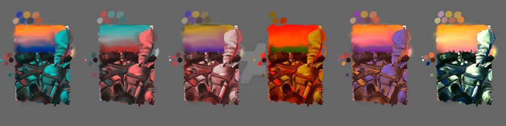Istanbul Colour Schemes by nerdsharpie