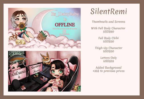 Offline Screens Commission Info!
