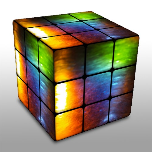 Rainbow Oil Rubiks Cube by Gray37 How To Do Google Knowledge Graph SEO