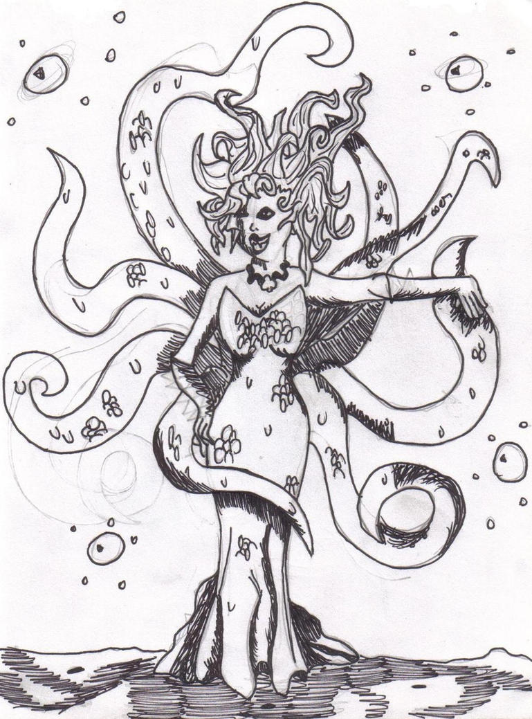ursula the sea witch by broadwaysbaby on deviantart