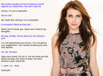 Emma Roberts is Taught a Lesson
