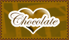 Chocolate Love Stamp by cutielou