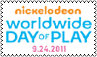 Worldwide Day of Play Stamp by cutielou