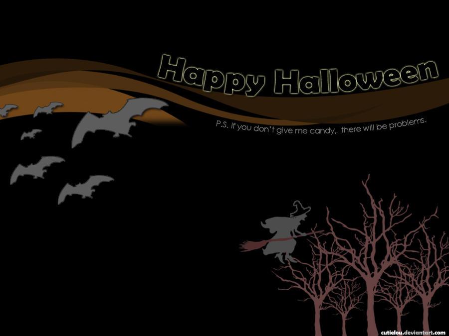Halloween Wallpaper by cutielou