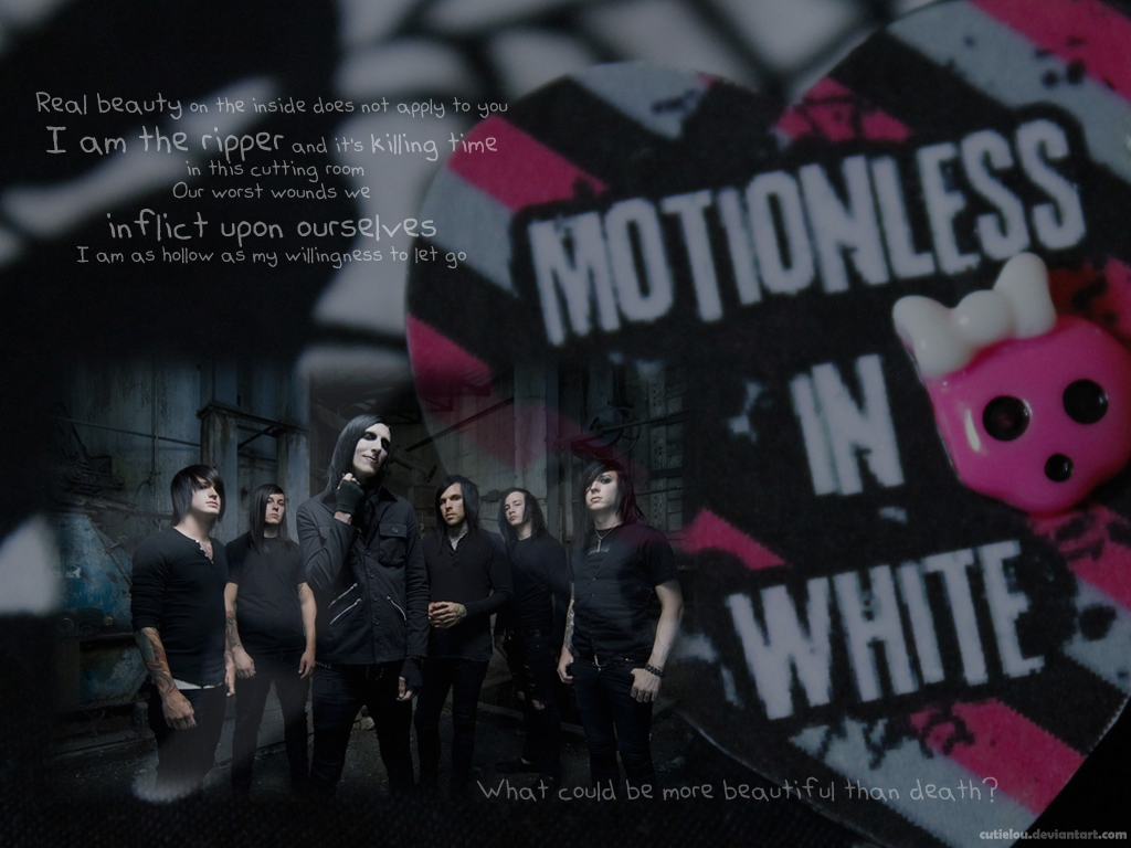 Motionless in white wallpaper with lyrics by cutielou on - Motionless in white wallpaper ...