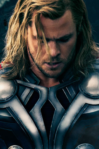 Thor Iphone Wallpaper By Cutielou On Deviantart