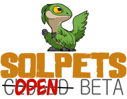 Solpets ~ were in Open Beta!