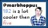 @markhoppus Stamp by cutielou
