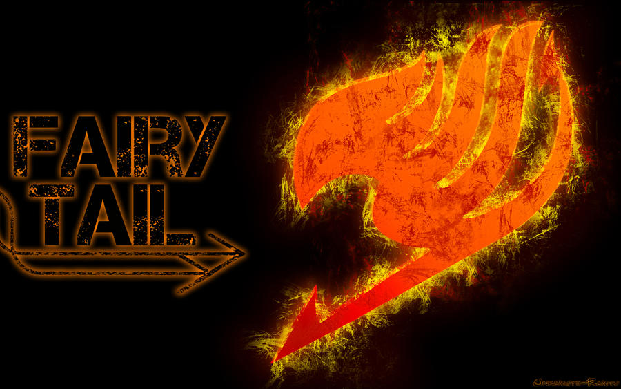 Fairy Tail Logo Red Fairy Tail Logo by Gamze135