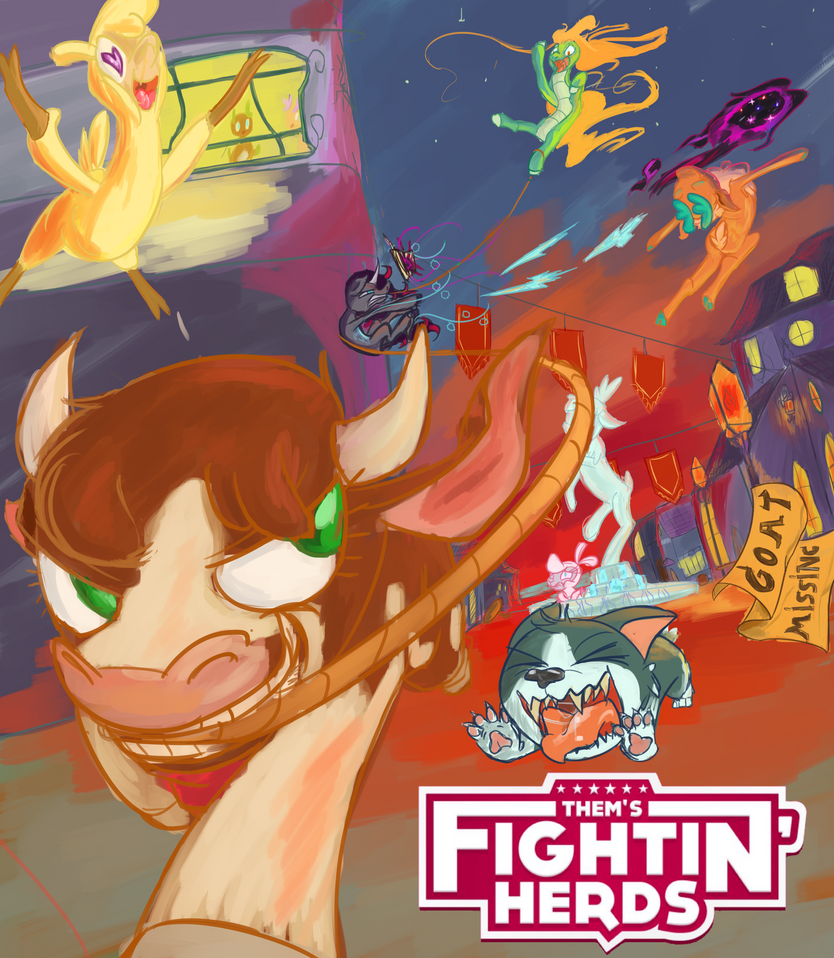 Thems Fightin' Herds FanPoster by Exranion