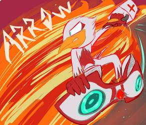 Arrow The Sparrow, on the scene by Exranion