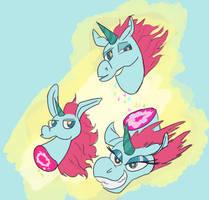 Princess Pony Head
