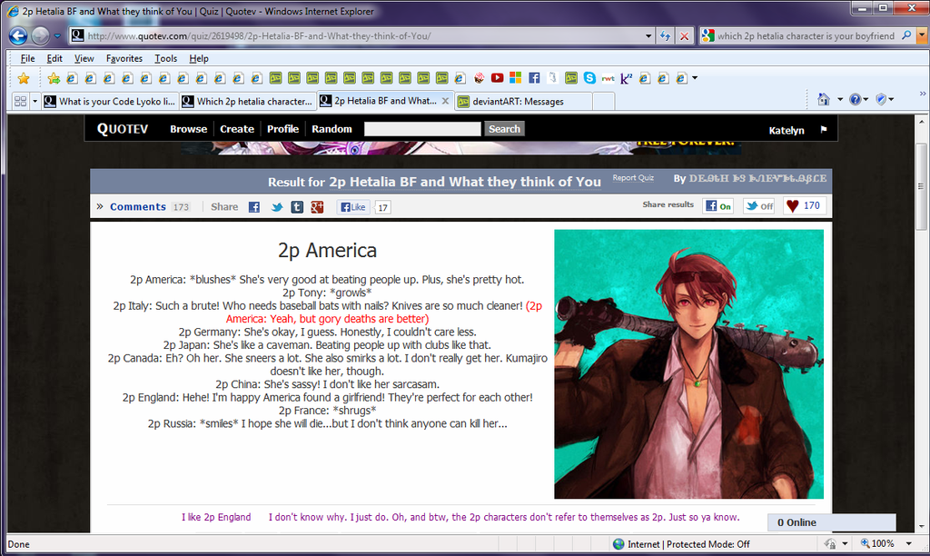 WhO aRe YoU iN 2P Hetalia
