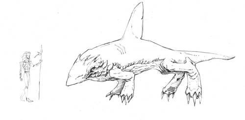 Tundra - Creature 01 by QuestingRaven