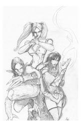 Twelve Dragons - Lines by QuestingRaven